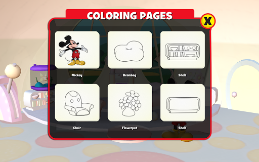 Disney Color and Play Appar (APK) gratis nedladdning för Android/PC/Windows screenshot