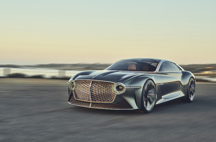 The Bentley EXP100 concept is likely to form the basis for the brand's first fully electric model in 2025.