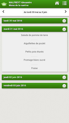 Pronote - Épinay sur Orge - screenshot