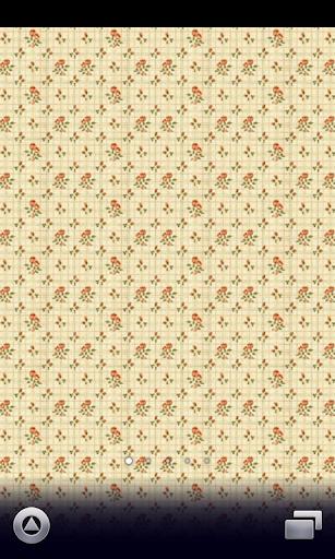 ヨーロピアン花柄壁紙【スマホ待受壁紙】