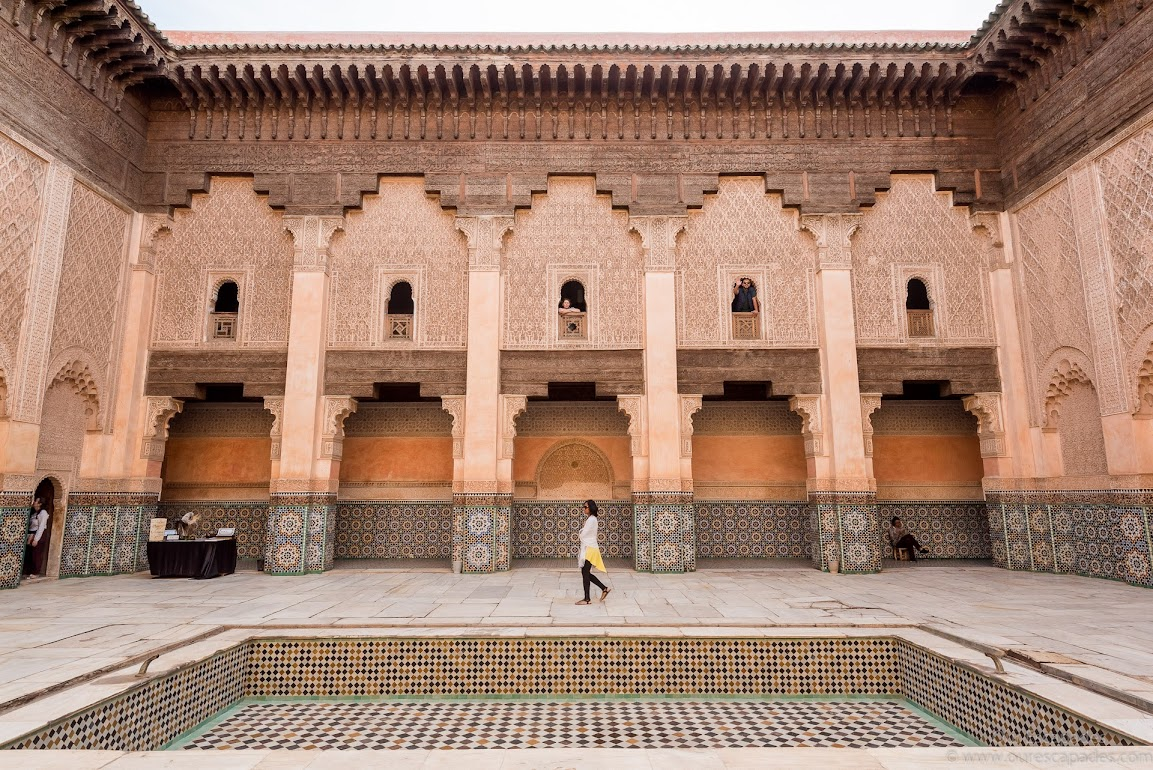 Lovely architecture of Ben Youssef