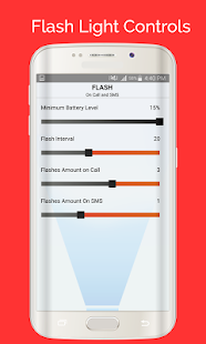 Flash On Call and SMS- screenshot thumbnail