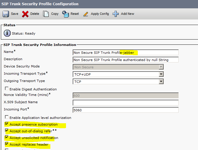 UC Valley: Cisco Jabber Configuration Screenshots (On-Premises)