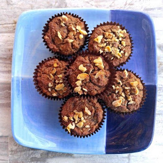 Paleo Banana Nut Muffins - Gluten Free - Sugar Free - Dairy Free.