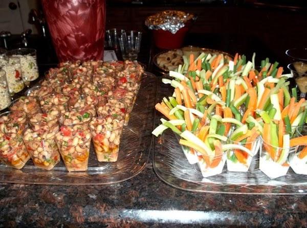 Now Walk It Out Salads: pasta, crestview caviar & veggie salads