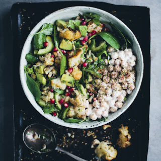Roasted Cauliflower & Za'atar Salad.
