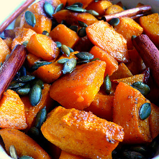 Spiced Roasted Pumpkin