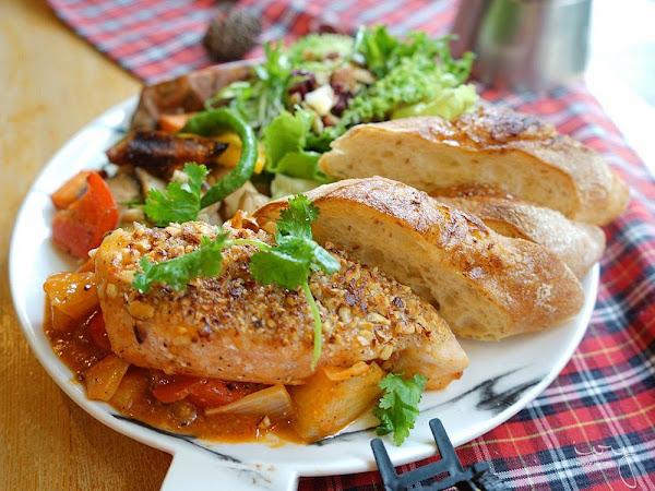 森渡手作廚房 台中西區早午餐,天然的食材創造出多層次的料理口感!