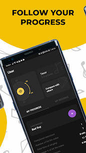 Singing app Vocaberry Mod Apk Vocal training. Karaoke (Unlocked) 5