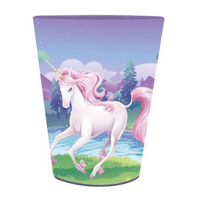 Discount Party Supplies Unicorn Fantasy - Plastic Souvenir Cup