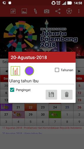 Indonesia Calendar 2.46 screenshots n 2