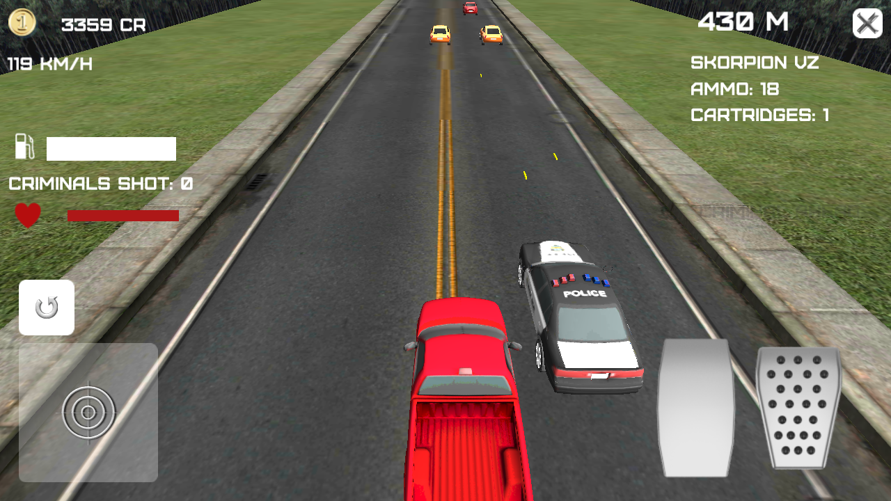 Street Driving Endless Driver - screenshot