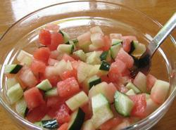 Watermelon Salad - Lisa's Recipe