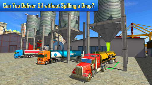 Oil Tanker Transporter Truck Simulator  screenshots 1