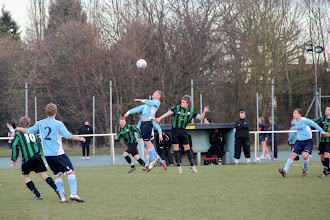 Photo: 10/12/11 v Stretton Eagles (Midland Combination League Div 1) 2-2 - contributed by Gary Spooner