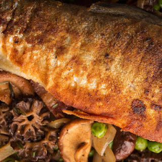 Trout with Morels.