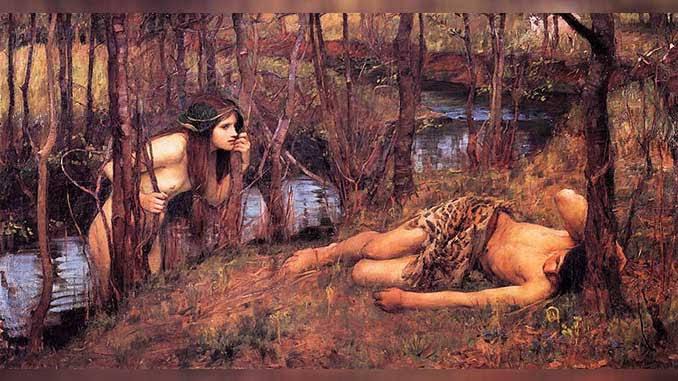 Las ninfas seres mitológicos de la naturaleza
