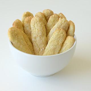 Homemade Ladyfingers Cookies.
