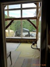 Photo: From the bedroom door.
