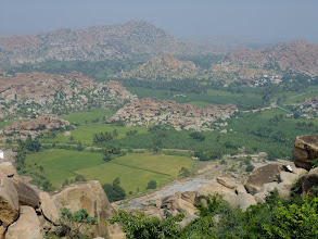 Photo: View over the countryside near Hampi