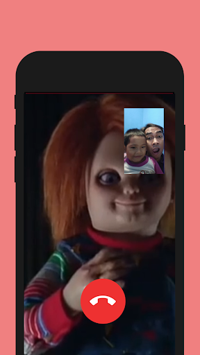 Fake Call From Chucky scary doll Prank screenshot 2