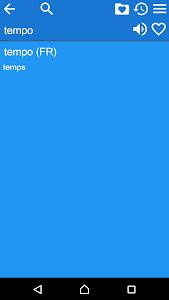 French Italian Dictionary Free screenshot 4