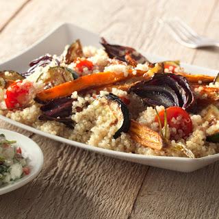 Quinoa Met Geroosterde Lentegroenten