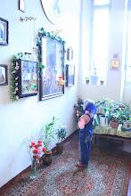 Photo: «О пресвятый и пречудный отче Николае …»  (перед иконой святителя Николая Чудотоворца)