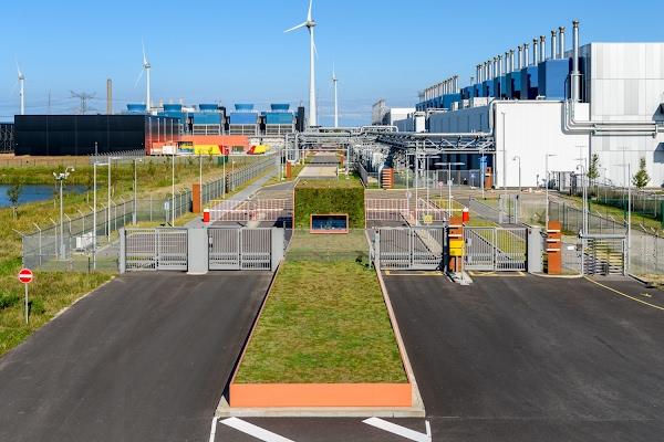 Estação de segurança em Eemshaven