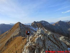 Photo: Mar_DSCN3015 io sul tratto iniziale della Cresta dei Monzoni