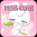 Rabbit Pink Love Pets Theme icon
