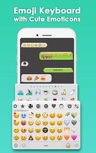 Download Emoji Keyboard- Funny Stickers, Cute Emoticons For PC Windows and Mac apk screenshot 1