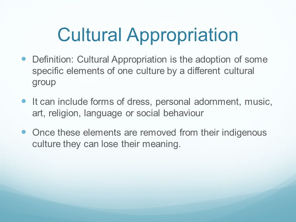 Cultural+Appropriation