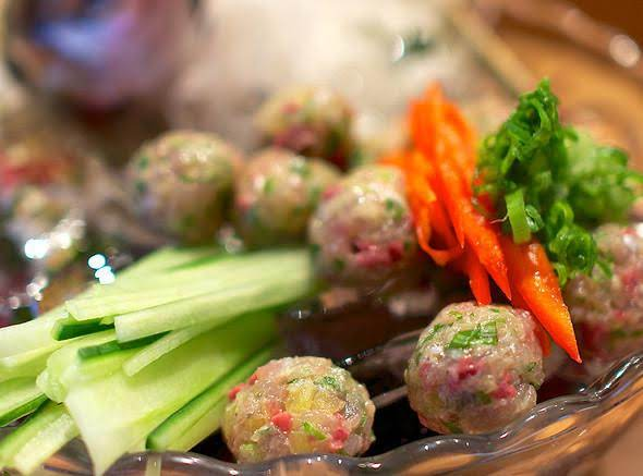 Aji Meatball.  Photo Courtesy Of Www.foodspotting.com.