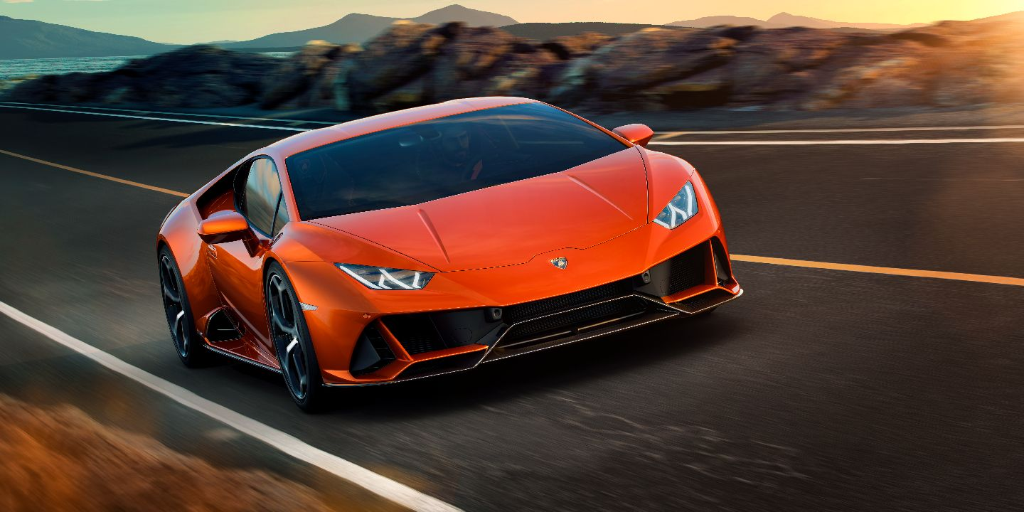 Lamborghini Huracan   325 km/h   Lamborghini is probably one of the most popular names when it comes to luxurious supercars. The Huracan first bebuted in 2017 and came to the Indian scene sprinting from 0-100 km/h in 2.9 seconds. The Huracan gets a sticker of Rs 3.53 core. (Image source: Lamborghini)