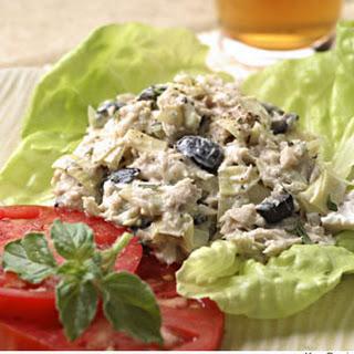 Artichoke & Ripe Olive Tuna Salad.