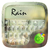 Rain GO Keyboard Theme &Emoji