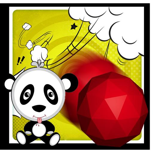 Panda Red Ball