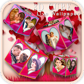3D Romantic Love Cube HD Live Wallpaper