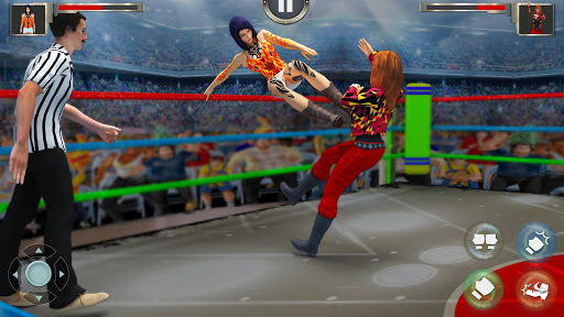 Women Wrestling Fight Revolution: Fighting Games 2.8 screenshots 9