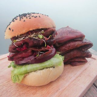 Beetroot Steak Burgers