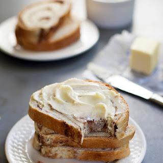 Homemade Cinnamon Swirl Bread.