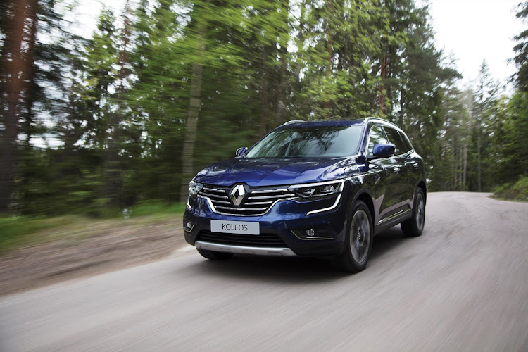 Handsome styling is a highlight of the Renault Koleos.