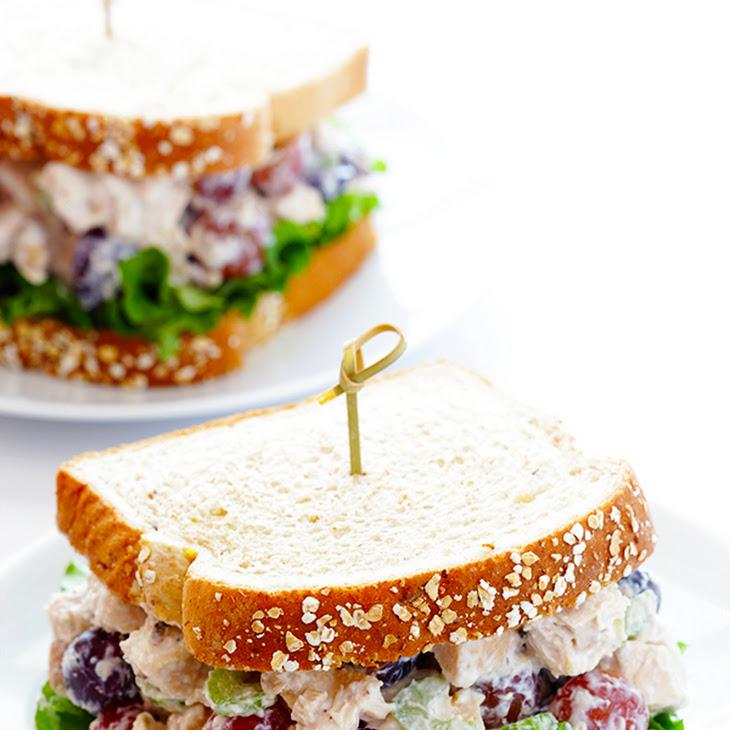 Lightened-Up Chicken Salad Recipe | Yummly
