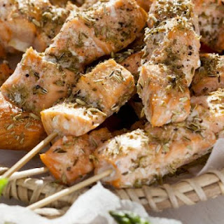 Anise Fish Skewers