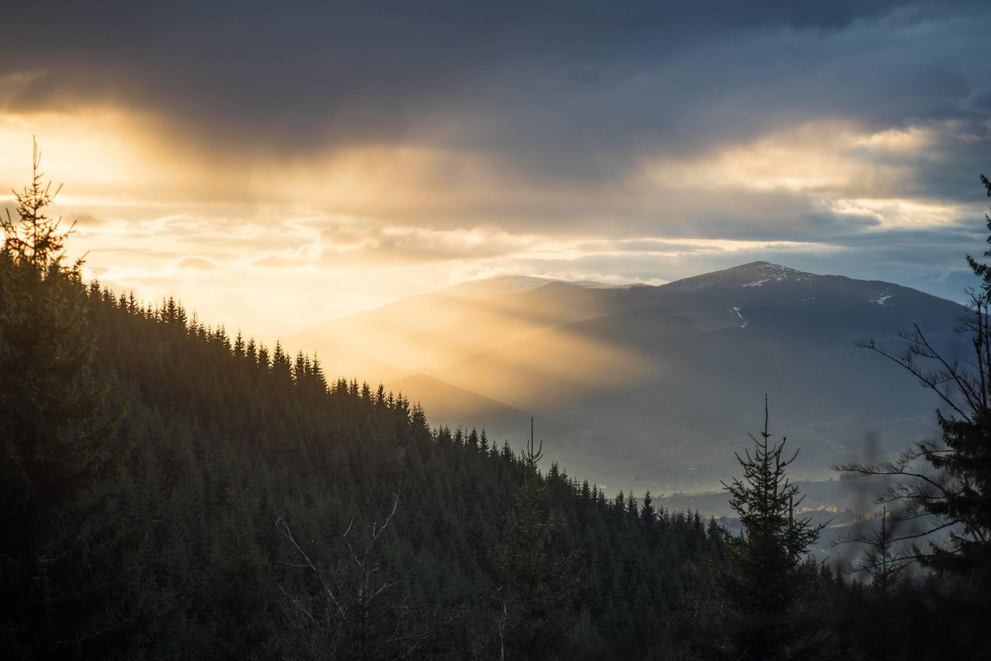 Захід сонця Кукул