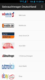 gebrauchtwagen deutschland apps bei google play. Black Bedroom Furniture Sets. Home Design Ideas