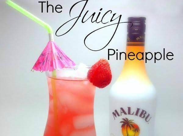 Juicy Pineapple Drink Recipe