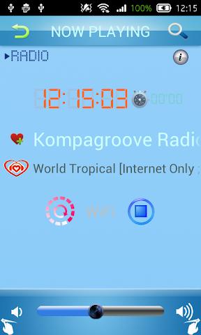 android Creole Radio Screenshot 5