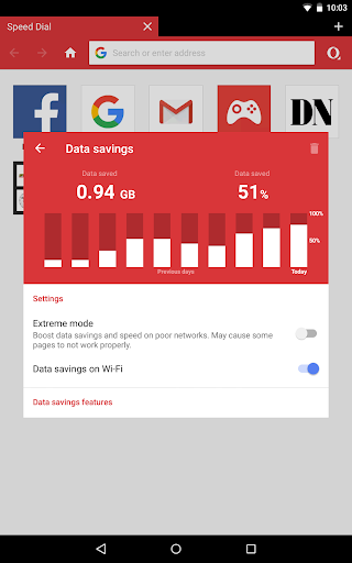 Opera Mini - fast web browser screenshot 11